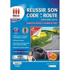 29274// REUSSIR SON CODE DE LA ROUTE EDTION 2010 PC/DVD NEUF