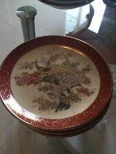 New listing Satsuma Japan Dessert Plates Antique 4 Pieces