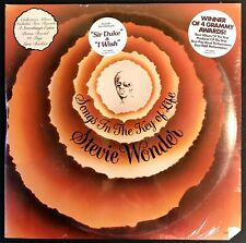 STEVIE WONDER Songs In The Key Of Life SEALED 1st PRESS 2LP+45+Hype Stickers '76