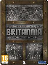 Total War Saga: Thrones of Britannia Steelbook (PC) (No Code) UK Quick Dispatch