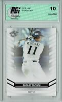 Shohei Ohtani 2018 Leaf Draft #DY-01 Rookie Card PGI 10