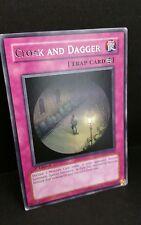 Cloak And Dagger - 1st Edition - Rare - STON-EN059 Trap Card
