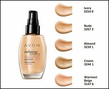 AVON Calming Effects Mattifying Foundation - Different Shades 30 ml/ Make Choice
