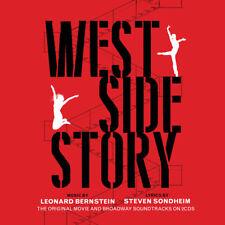 West Side Story ORIGINAL MOVIE SOUNDTRACK & BROADWAY CAST RECORDING New 2 CD