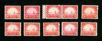US Stamp # 698 F-VF Lot 10 OG NH Catalogue Value $125.00