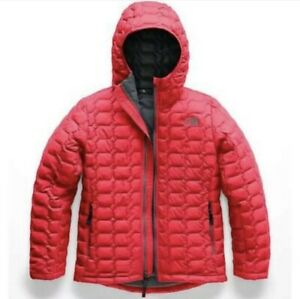 The North Face Boys ThermoBall™ PrimaLoft® Hooded Jacket - Red - XL (18/20)