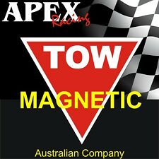 Tow Point Magnetic Racing Sticker Decals - Suits CAMS Approved Races or Rally
