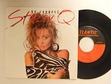 Stacey Q. 45 ps WE CONNECT bw DON'T BREAK MY HEART   Atlantic VG++pop.dance