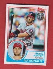 2018 Topps 35TH Anniv. Washington Nationals Bryce Harper #83-84