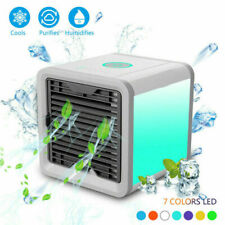 Portable Mini Air Conditioner Cool Cooling For Bedroom Cooler Fan Multicolor RHN