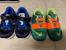 2- Nike Toddler Infant Unisex Shoes Low Tops Size 7 Nice!