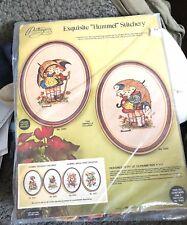 New listing Paragon Exquisite Hummel Stitchery #0365 The Umbrella Children Kit