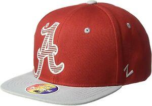 "Alabama Crimson Tide NCAA Zephyr ""Hooligan"" Youth Kids Snapback Hat Cap NEW NWT"