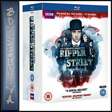 RIPPER STREET - COMPLETE COLLECTION - SERIES 1 - 5   **BRAND NEW BLURAY **