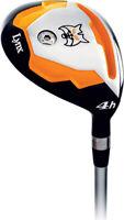 **NEW** Lynx Golf Predator - Orange 3 & 4 Hybrid, Firm & Regular Flex