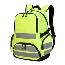 354f1384d3 Shugon London Pro Hi Vis Backpack Large Viz Bag Reflective Rucksack (SH7702)