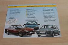 123708) Renault R 19 - Gebrauchtwagen - Prospekt 02/1996