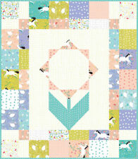 ENCHANTED Quilt Kit + Quilt Pattern + Moda Fabric by Gingiber