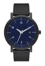 NIXON Rollo 38 Uhr Armbanduhr - All Black / Navy - A984-2315 NEU OVP - LP 230 €