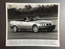 1996 BMW 318i Convertible Factory Press Photo, Foto RARE!! Awesome L@@K