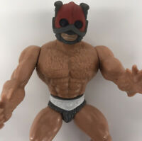 Vintage 1982 He-man Masters of the Universe Zodac Figure MOTU SOFT HEAD Rare wow
