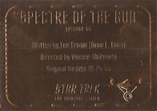 Star Trek TOS Season 3 - G56 'Gold Plaque' Chase Card