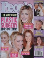 JENNIFER ANISTON SHARON STONE CHARLIZE THERON October 2004 PEOPLE Magazine