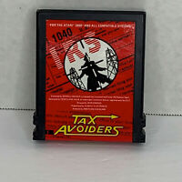 Tax Avoiders (Atari 2600, 1982) CART ONLY! TESTED & CLEANED!