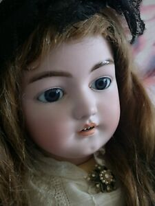 """Antique 30"""" Simon & Halbig Dep, 1079 bisque child doll, stunning and special."""