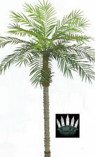 7' ARTIFICIAL PHOENIX PALM TREE PLANT POOL PATIO CHRISTMAS LIGHTS DATE SAGO COCO