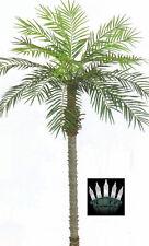 7' ARTIFICIAL PHOENIX PALM TREE PLANT POOL PATIO CHRISTMAS LIGHTS DATE SAGO COCO