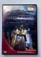 DONIZETTI L'ELISIR D'AMORE - DVD - METROPOLITAN  OPERA - PAVAROTTI