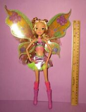 "Winx Club Jakks Pacific Nickelodeon Believix 11.5"" Fairy with Wings Flora Doll"