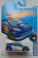 2017 Hot Wheels HW RACE TEAM 4/5 '12 Ford Fiesta 210/365 (Blue Version)