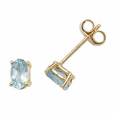 Unbranded Topaz Stud Yellow Gold Fine Earrings