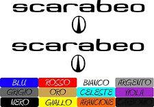 Kit Adesivi Scarabeo Sticker Aprila Scarabeo 50 COD02