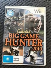 Wii - Cabela's Big Game Hunter 2010 | AUS PAL | Good Condition! 🔥
