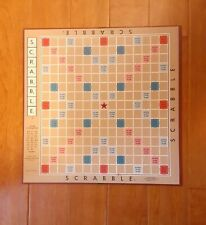 SCRABBLE GAME BOARD ONLY REPLACEMENT PIECE EXCELLENT CONDITION