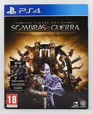 LA TIERRA MEDIA SOMBRAS DE GUERRA EDICION GOLD - PLAYSTATION 4 PS4 - PAL ESPAÑA