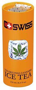 12x C-Swiss Cannabis Ice Tea 250ml, THC-frei, pfandfrei #400008-12