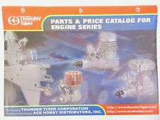 Thunder Tiger Parts & Price Catalogue For Engine Series - Radio controlled
