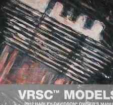 2012 Harley Davidson Vrod V-Rod Vrsc Models Operators Owner's Owners Manual New