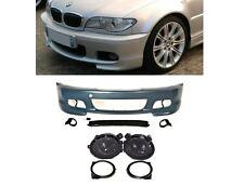 PARECHOC PACK M M2 M3 BMW SERIE 3 E46 COUPE ET CABRIOLET + ANTIBROUILLARD