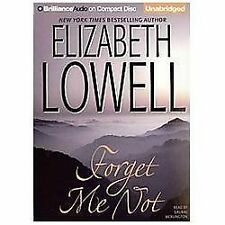 Forget Me Not by Elizabeth Lowell (2013, CD, Unabridged)