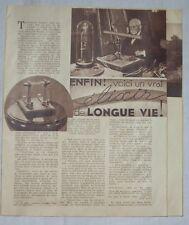 Article,Elixir de longue vie,Saint-Emilion,Edouard Branly,,1938,clipping