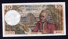 10 FRANCS VOLTAIRE ANNEE 1972