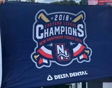 New Hampshire  Fisher Cats 2018 Championship Flag SGA STADIUM GIVEAWAY MILB