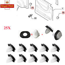 25pcs Car Door Trim Panel Clips For Fiat Ducato Citroen Jumper Peugeot Boxer UK