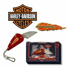 HARLEY DAVIDSON COLLECTIBLE FLAME KNIFE/KEY CHAIN NEW