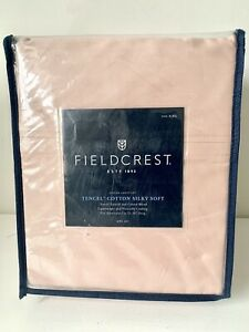 California King Cotton Sateen Sheet Set Heirloom Pink - Fieldcrest
